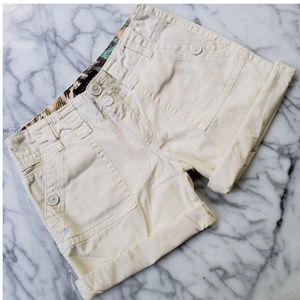 Sanctuary Peace Shorts Cream Size 27